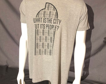 Centennial State 1876 T-Shirt - What Is The City But Its People? Colorado Denver CO