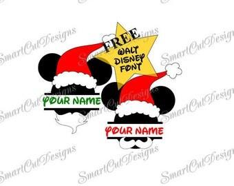 50% OFF Disney Mickey Mouse Hipster Santa SVG,Hipster Mickey Monogram SVG,Silhouette Studio 3,Mickey Mouse Beard Svg,Free Disney Svg Font