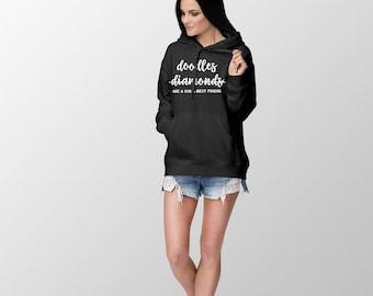 goldendoodle hoodie - labradoodle hoodie - doodle hoodie - doodle mom hoodie - goldendoodle hoodie - dog mom hoodie - golden doodle hoodie