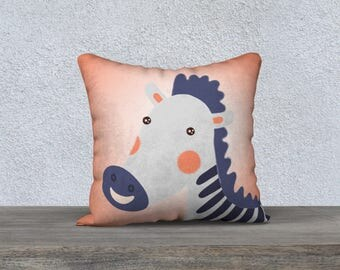 "Decorative pillow cover for children ""Zebra"" pillowcase pillow gift, baby-child decor cushion Zebra animal themed room"