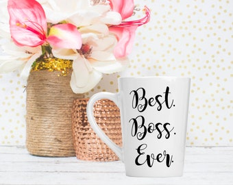 Best Boss Mug - Boss Babe Coffee Mug - Boss Appreciation - Boss Gifts for Women - Motivational Mug - Best Boss Gift - Woman Boss Gift Ideas