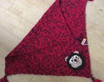 Hand Crochet Dennis The Menace Colour Blanket