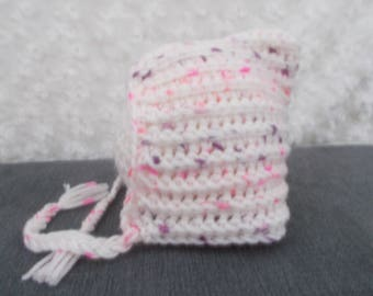 Handmade crochet super soft crochet pixi bonnet