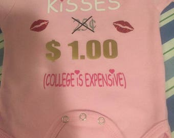 Kisses 1.00 (College is expensive)
