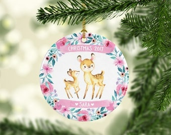 Custom Name Ornament Personalized Christmas Ornament Employee