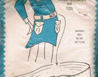 VINTAGE E-Z Mod Hip Hug Belt Kit with Large Eyelets and Tool in Original Packaging