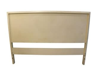 Mid-Century Headboard Danish Modern White Paul McCobb Planner Group Full Size Headboard