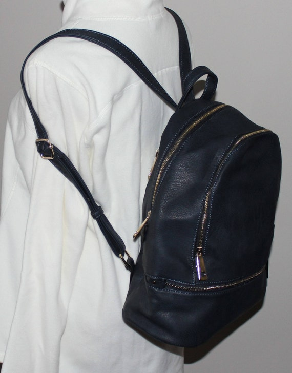 Monogrammed Backpack/Leather Look/ Great Gift!/ NEW for FALL