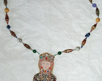 """Byzantium collection """"Middle Age"""" necklace"""
