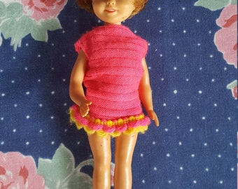 Penny Brite Doll from Deluxe Reading Corp 1960 Plastic Girl Doll FS