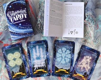 The Constellation Tarot - Tarot Cards, Tarot Deck, Tarot Card Deck, Tarot, Oracle Cards, Constellation Tarot, Spiritual Cards