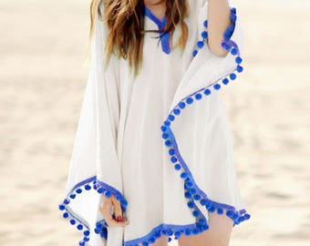 Summer Bohemian Beach Cover up, Beach Dresses, Bathing Suit cover ups, Bikini Swimsuit cover up, Beach Dress cover up,Bohemian Dress