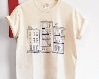 Apartment Art T-shirt, art tshirts, graphic tees, graphic shirts, apartment art, unique gifts, funny gifts, shirts, t-shirts, cream shirts