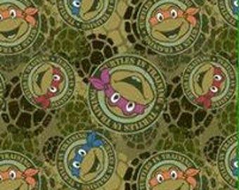 Teenage Mutant Ninja Turtles KNIT Fabric