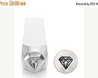ON SALE Impress Art 6mm Diamond Metal Stamp (SC1512-J-6Mm)