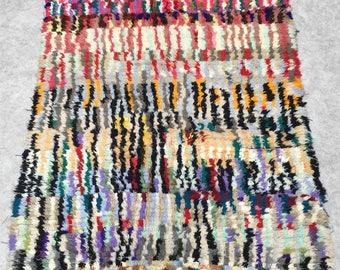 Morrocan BOUCHEROUITE  rug  8.7'x4.9'