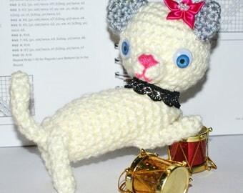 Amigurumi Kitten