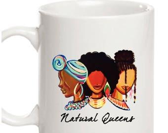 SALE! Natural Queens Mug