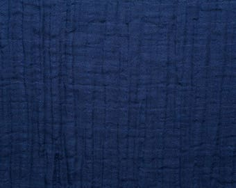 Cobalt Solid Embrace Double from Shannon Fabric