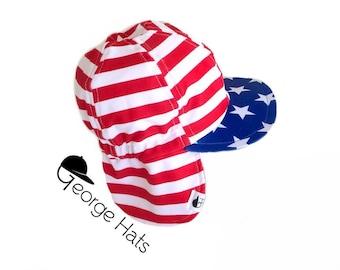 Baby, Toddler & Kids Sun Hat / Kids Swim Hat / Childrens Sun Hat / STARS STRIPES