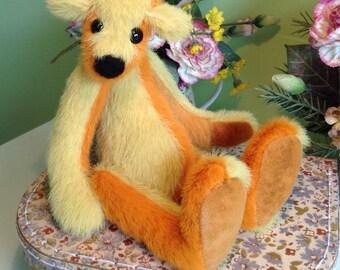 OOAK, artist bear, Botanybear, miniature