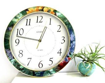 Linden Clock Etsy