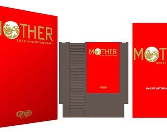 MOTHER 25TH Anniversary Limited Edition Gold Foil Complete Box Set