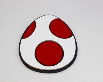 Wooden Yoshi Egg