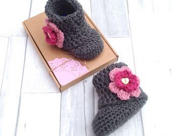 Crochet Shoes Etsy