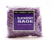 Blackberry Sage Wax Crumble Melts 3 Ounce