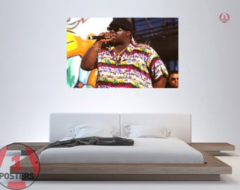 Biggie poster etsy for Baby boy tupac mural