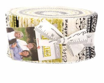 Jelly Roll Authentic Etc. by Sweetwater for Moda - 40 Fabrics