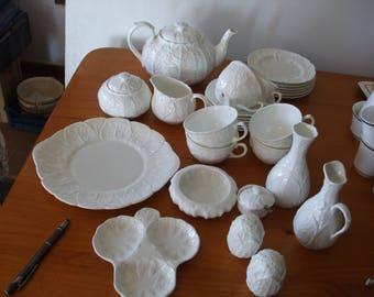 "Wedgwood ""Countryware"" 27 piece tea set etc."