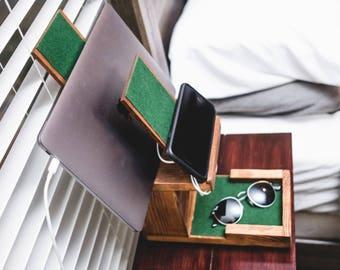 Handmade Reclaimed Wood-USB Charging Station