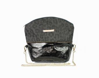 EVA jean vinyl handbag