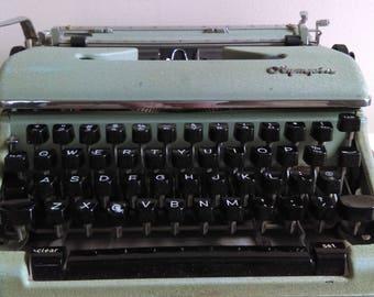 Vintage Olympia Typewriter.