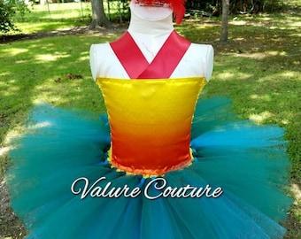 Chicken Bird Inspired Tutu Dress      Facebook.com/ValureCouture     Pinterest.com/ValureCouture     ValureCouture.Etsy.com