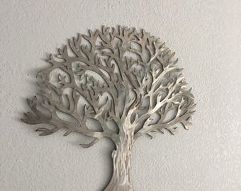 Charmant Metal Tree Stainless Steel Tree  Wall Art  Wall Decor