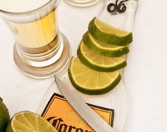 Corona Light beer bottle serving platter