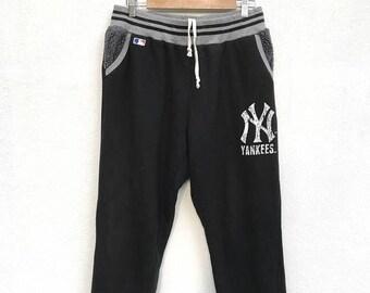 BIG SALE Vintage New York Yankees Sweapants / Baseball Pants / Major League Pants / Dodgers Mets Red Sox Cubs Cardinal