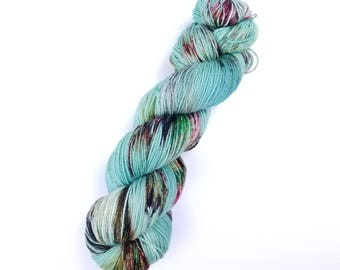 Speckled Sock Yarn.  Merino Sock Yarn.  Zombie Sock Yarn.  Living Dead Girl.