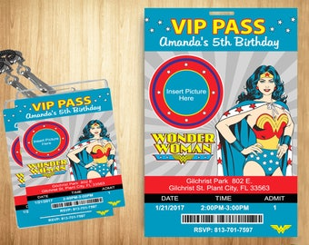 Wonder Woman VIP PASS!