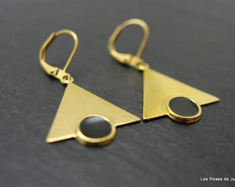 Triangle earrings triangle earrings