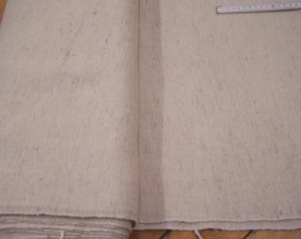 260 - 300 G - Herringbone - Hand woven wool fabric (20)