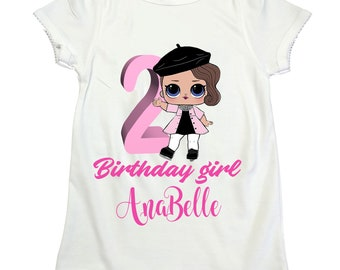 LOL surprise doll POSH girl  shirt LOL girl birthday shirt Lol Surprise girl mane shirt Girl birthday Lol shirt  lol surprise dolls birthday