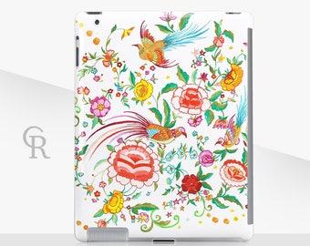 Floral iPad Case For - iPad 2, iPad 3, iPad 4 and iPad Mini, iPad Air, iPad Air 2, iPad Mini 4 Snap on Case