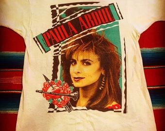 Vintage Paula Abdul Shirt 1989