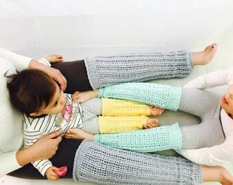 Leg Warmers, Crochet Leg Warmers, baby leg warmers, all sizes newborn to adult, customisable colours, adult leg warmers