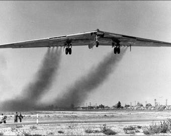 Poster, Many Sizes Available; Yb-49 Flying Wing, A Heavy Bomber Prototype P2