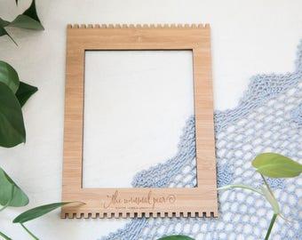 Small Bamboo Weaving Loom - 15.5cm x 21cm (6.1inch x 8.2inch)